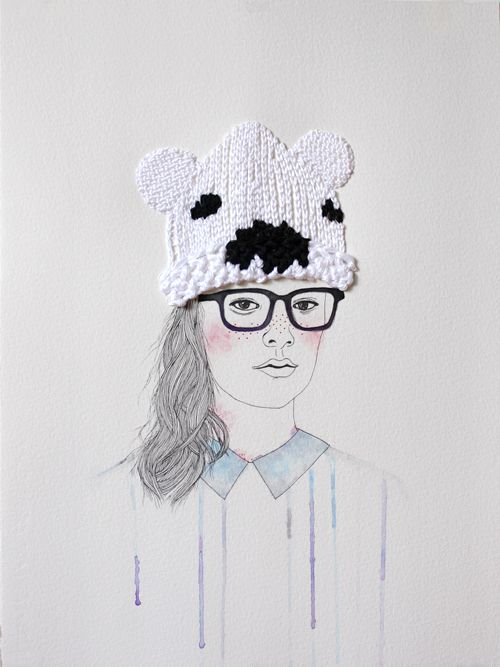 Izziyana Suhaimi Art 6 -- this piece by the singaporean artist reminds me of my old pal lisa
