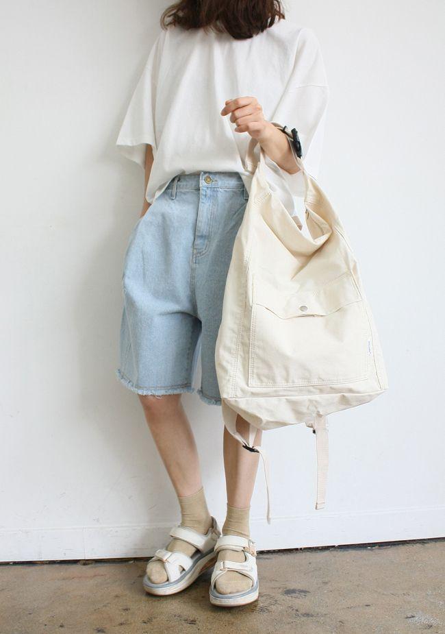 backpack (IVORY)40,000원