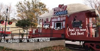 "Chamblee, The Frosty Caboose for a dose of local ice cream etc. greatness. In the words of Ice Cube - ""Yay YAYEE!"""