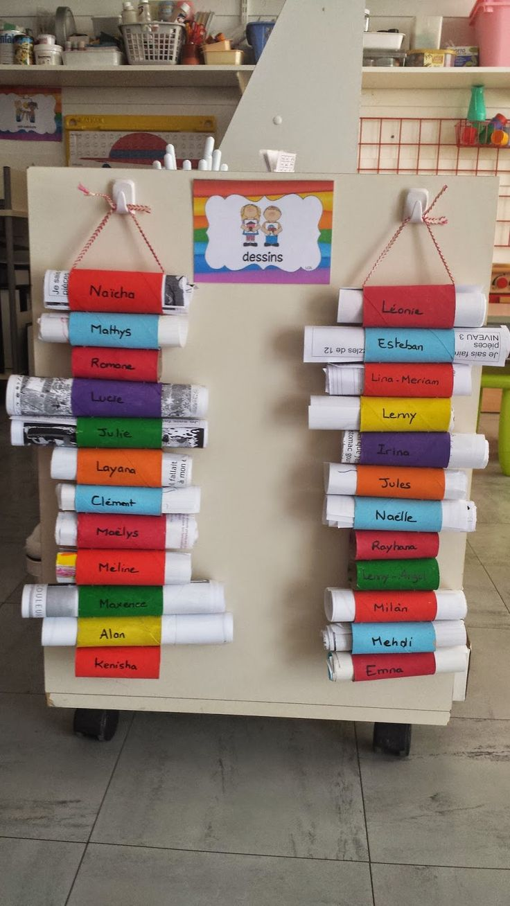 La maternelle de Laurène: Ranger les dessins