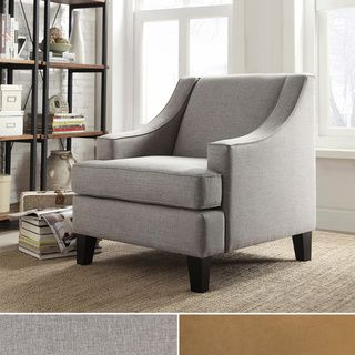 TRIBECCA HOME Winslow Concave Arm Modern Accent Chair | Overstock.com Shopping - Great Deals on Tribecca Home Living Room Chairs