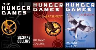 """La série """"Hunger Games"""" de Suzanne Collins."""