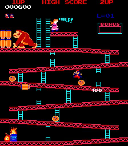 DONKEY KONG for Atari 2600