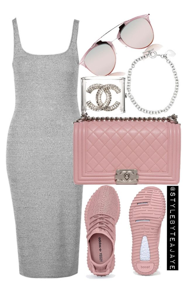 """Untitled #2212"" by stylebyteajaye ❤ liked on Polyvore featuring Christian Dior, Chanel, Topshop and Tiffany & Co."