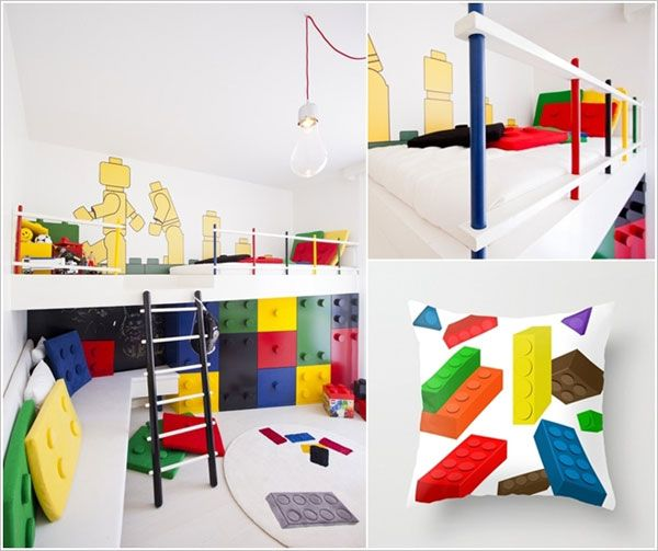 Cameretta per bambini in stile LEGO