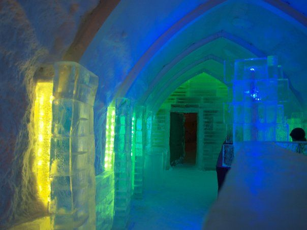 If it is not cold enough in winter for you, go to the Ice Bar. Niseko Ski Resort, Japan.