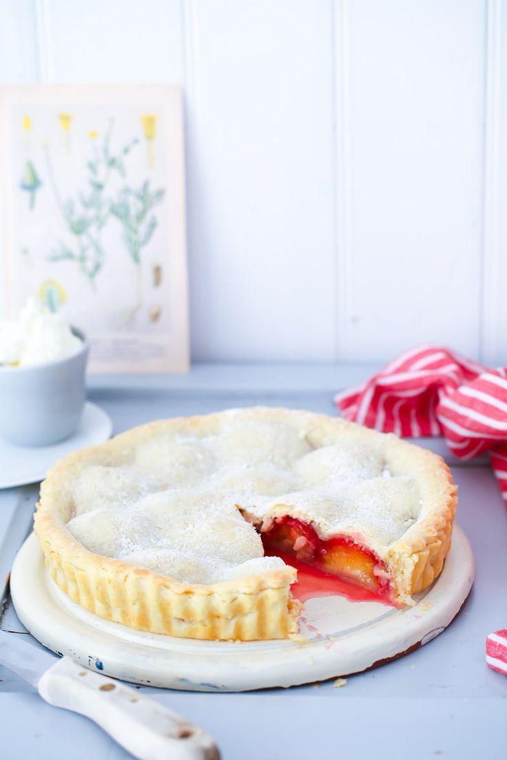 Pflaumen Pie Rezept Pflaumenkuchen einfache Tarte Backen Backrezept Herbstkuchen…