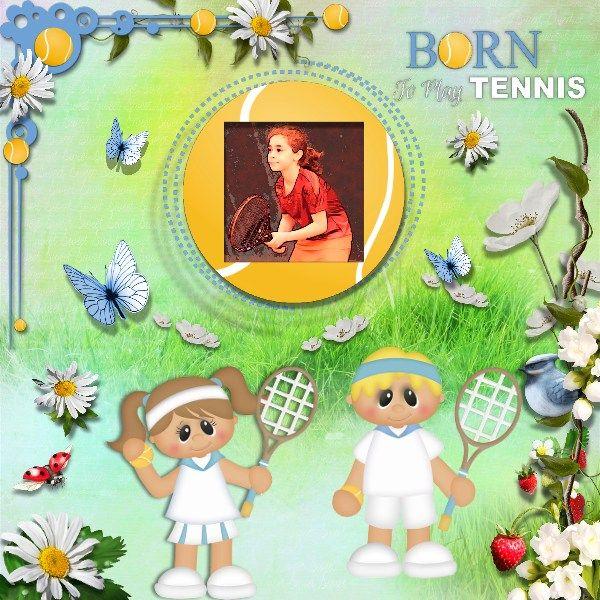 ANYONE FOR TENNIS http://www.anntaurus.com/project/anyone-for-tennis-digital-scrapbook-kit/ Photo: Pixabay