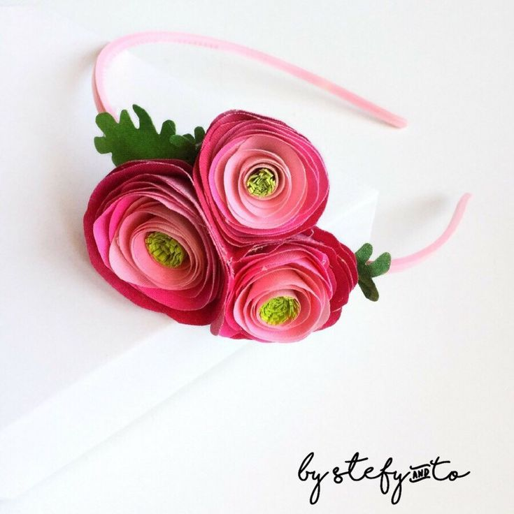 Colorful hair accessories... Check out this wonderful hairband... Beautiful flowers, colors and shades http://AntoanetaVitale.net