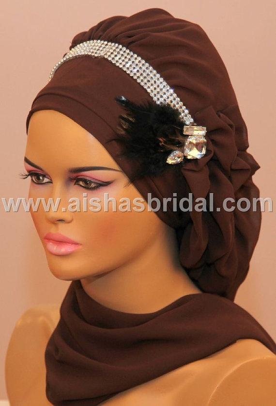 Ready To Wear Hijab Code HT0085 by aishasbridal on Etsy, $36.50