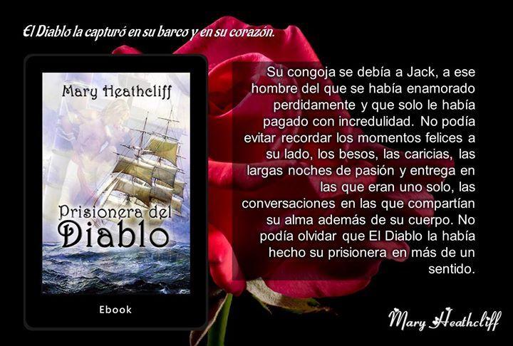 #PrisioneraDelDiablo de  #MaryHeathcliff en #Goodreads http://ift.tt/2t2EW1W