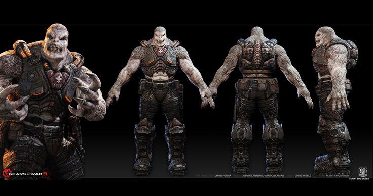 gears of war sculpt - Google Search