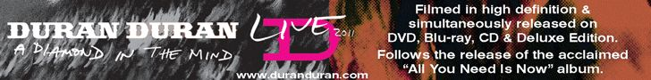 Duran Duran Release Dates for A Diamond in the Mind - Updated July 19, 2012 » Duran Duran