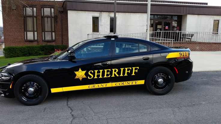 Grant County, West Virginia, Grant County Sheriff Department, Dodge Charger vehicle.