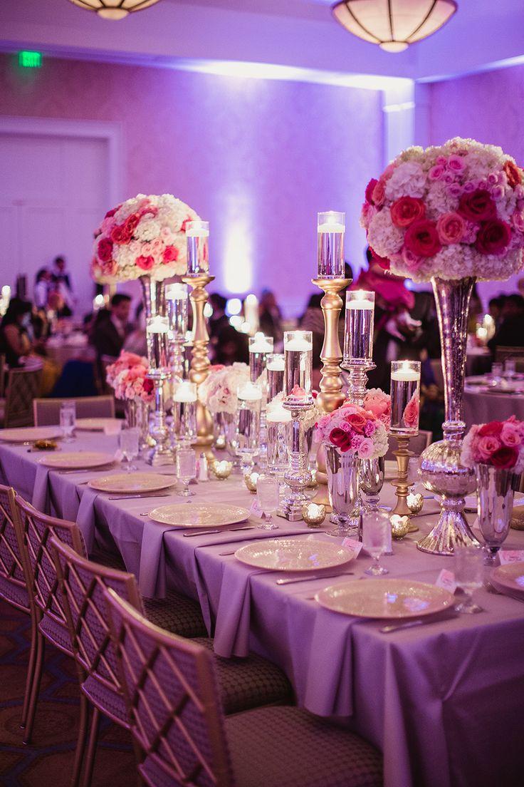 Belo Mansion Wedding Fuchsia C Gold Www Significanteventsoftexas