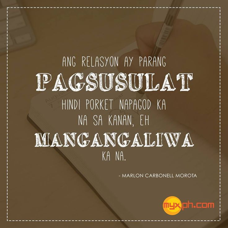 Tagalog Quotes: 527 Best Filipinoism Images On Pinterest