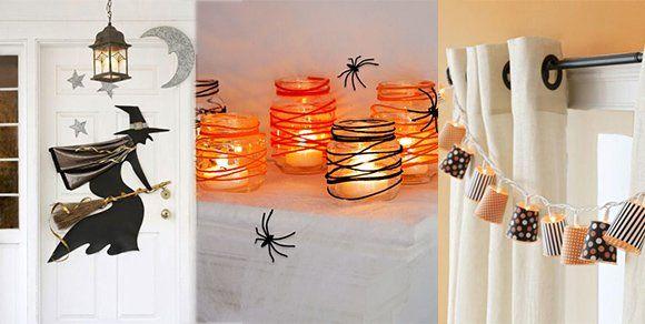 Halloween Deko selber machen - So wird das Fest richtig gruselig! Gerne sitzen wir abends auf der Couch und drücken die Hand unseres Partners, während im