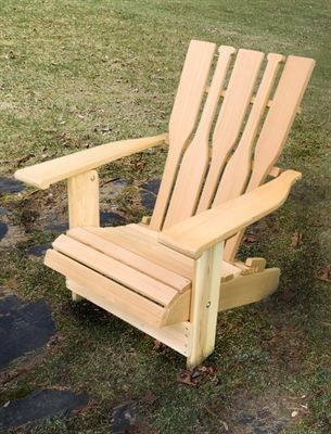Designed To Emulate An Oar, Our New Paddle Back Adirondack Chair Will  Surely Be A. PaddlesThe CottageAdirondack ChairsCottagesGift ...