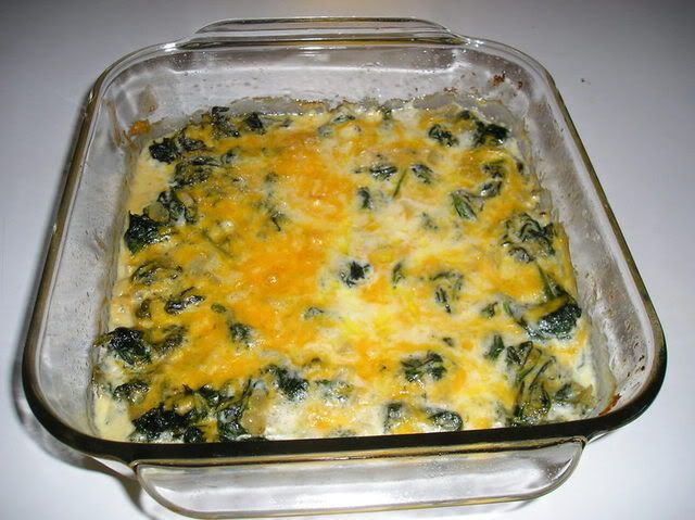 Three Cheese Spinach Bake -- [Note: click-through is a discussion thread; scroll down to #33 find photo and #48 for the recipe.]: Hair Media, Black Hair, Hair Medium, Inductive Recipes