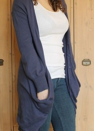 Kup mój przedmiot na #Vinted http://www.vinted.pl/kobiety/kardigany/2987069-granatowy-dlugi-sweter