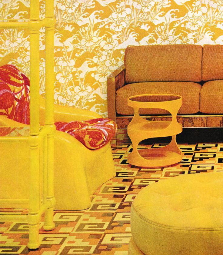 1000 images about 1970s decor on pinterest david hicks for Home decor 1970s