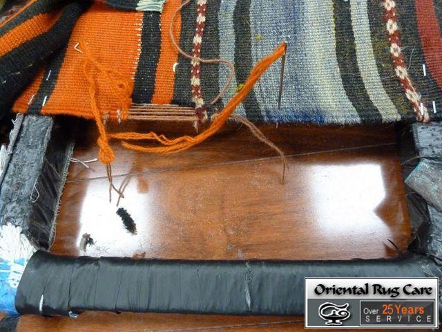 Specialization in Rug Repair Service