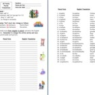 25 Spanish Family Words & Plurals - students change family words from singular to plural, translate to English and write a Spanish vocabulary word under each clip art image.