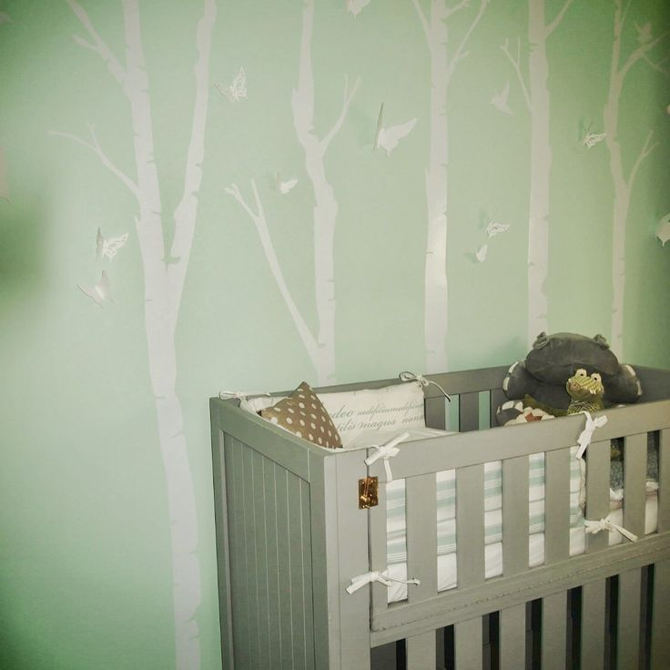 White tree wall vinyls