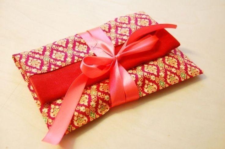 Geschenketasche /Nähanleitung mit Fotos - Schnittmuster und Nähanleitungen bei makerist