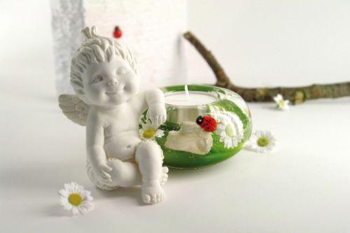 20352F Engel LUCY III *winter time* Dreamlight Teelicht Teelichthalter