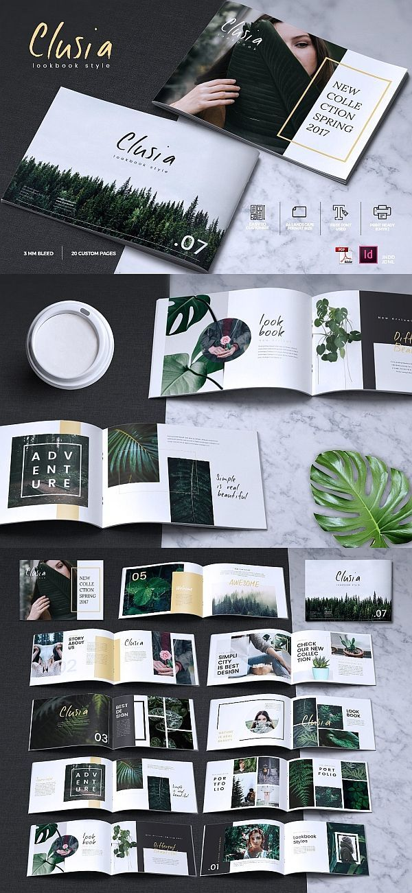 CLUSIA – Katalog der Lookbook-Broschüren – #CLUSI…