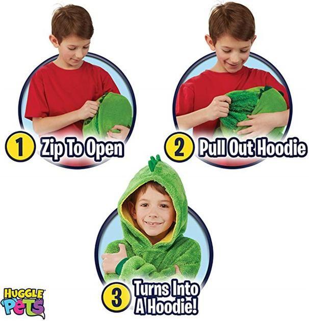 Huggle Pets Hoodie Dinosaur Hooded Sweatshirt Ezjayshop Hooded Winter Coat Hooded Sweatshirts Hoodies