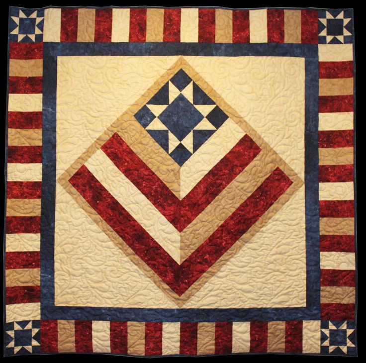 Quilt Patterns For Stonehenge Fabric : 49 best images about Red White and Blue Quilts on Pinterest Red white blue, Martin o malley ...