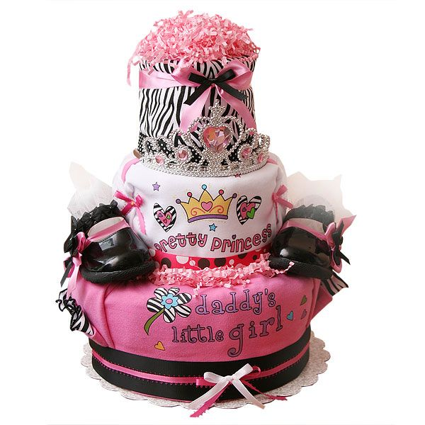 best  zebra diaper cakes ideas on   girl diaper cakes, Baby shower invitation