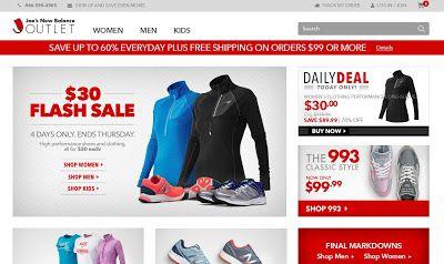 Почти все о покупках в американских интернет-магазинах. Интернет-магазины США. Инструкции.: Аутлет New Balance - Joes New Balance outlet. Как ...