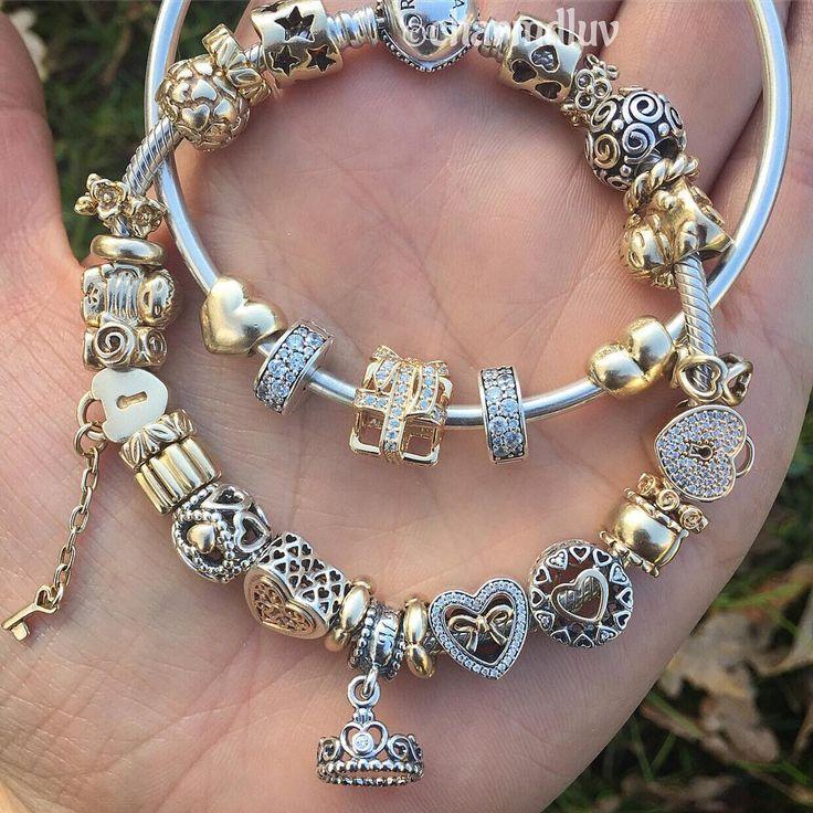 Pandora Charm Bracelet Ideas: Best 25+ Pandora Gold Ideas On Pinterest