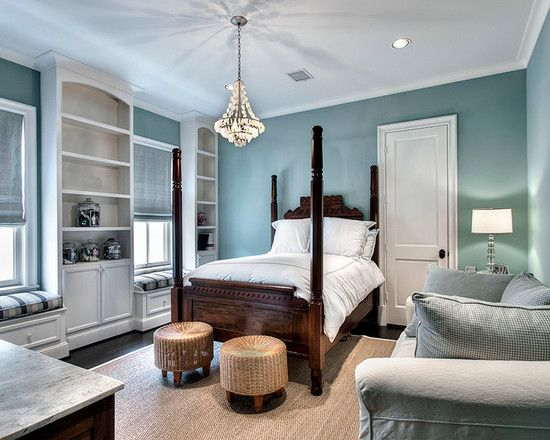 bedroom design, traditional duck egg wall bedroom ideas with
