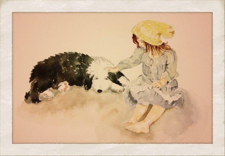 True friends (watercolor)
