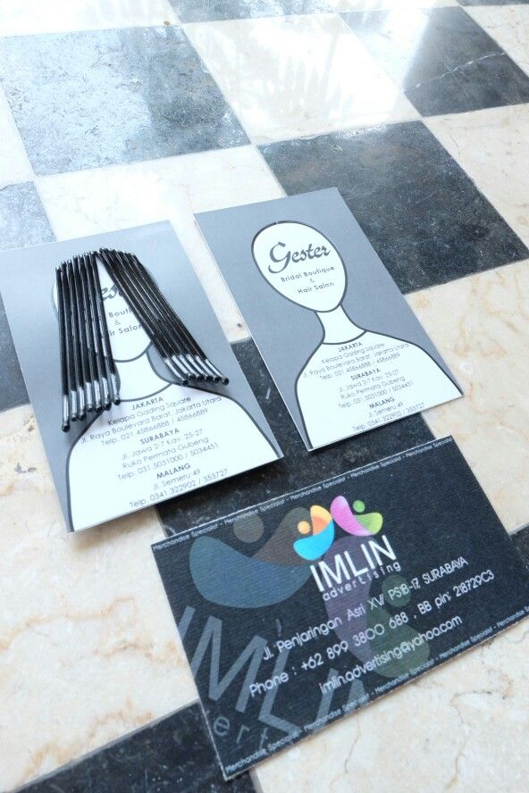 Business card design & production by me. Order by client