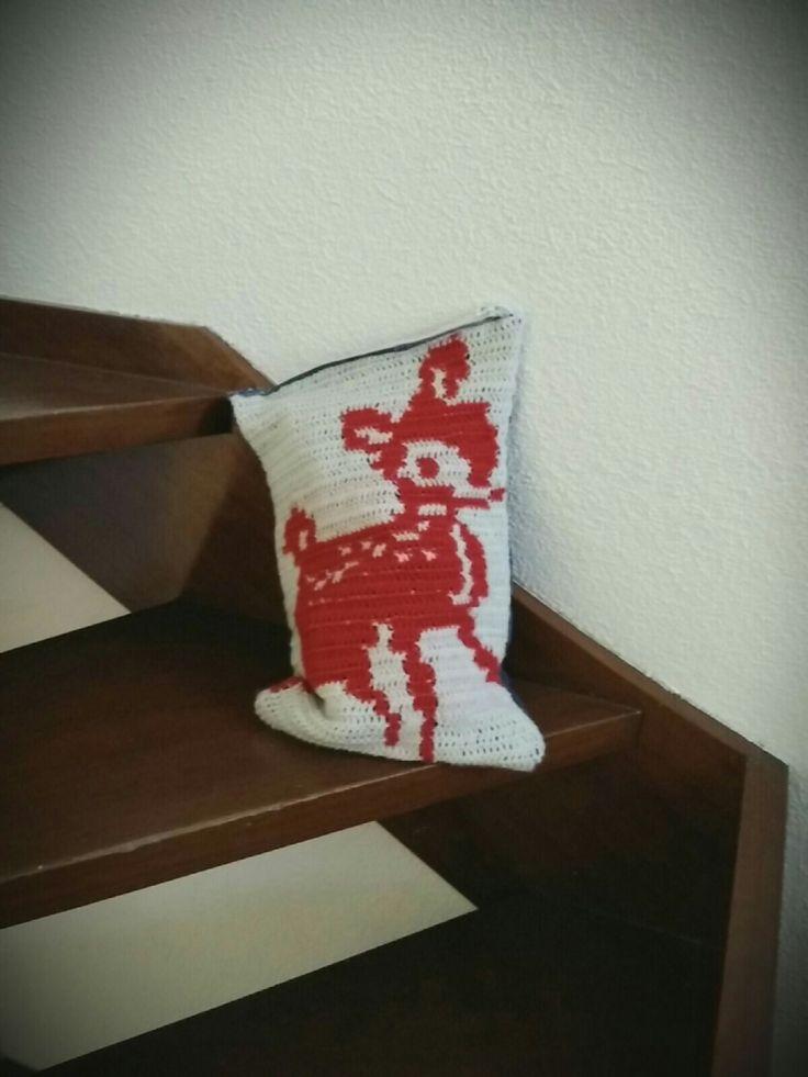 Deer bag#socute#handmade#bag