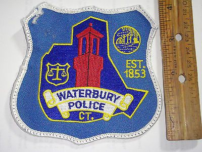 Waterbury Connecticut Police Department    E Bx E 2