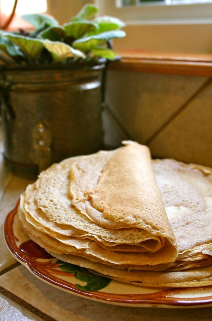 Easy Whole Wheat Crepes
