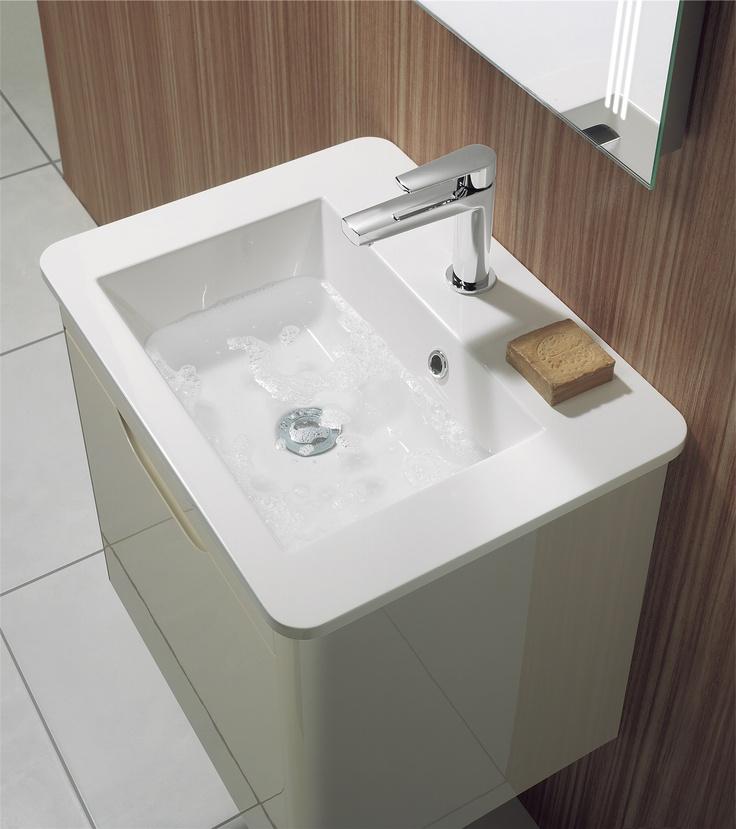 shades bathroom furniture uk%0A Solo Calico Bathroom Furniture Unit  u     Basin from Crosswater  http   www bauhaus