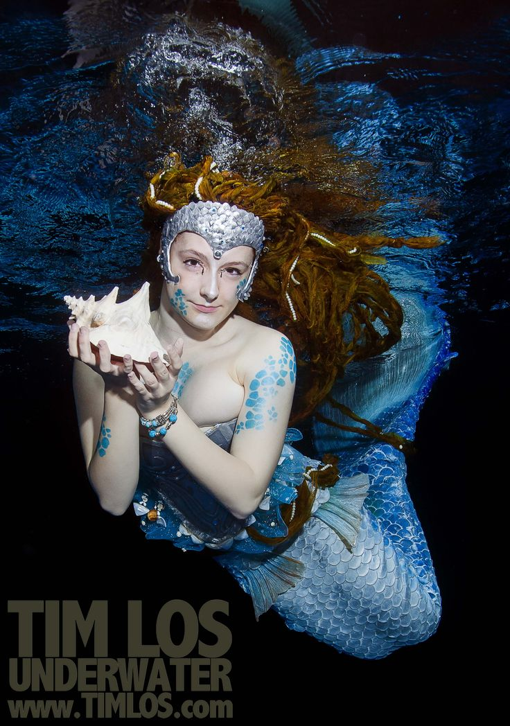 My favourite mermaid image of all time.  It always helps when you have an amazing outfit designer, model and pool side assistance. www.timlos.com