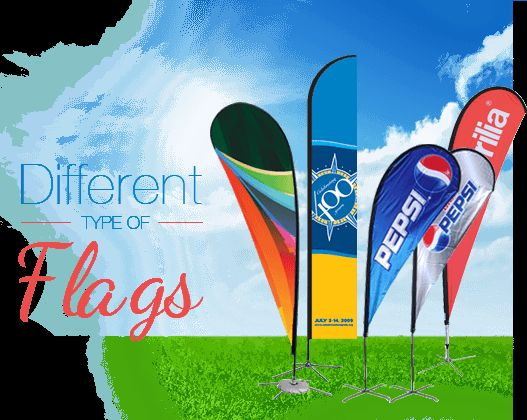 different kinds of flags in the world