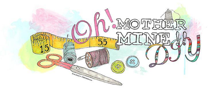 Clase de costura 9. Cómo hacer dobladillo ciego o puntada escondida. | Oh, Mother Mine DIY!!