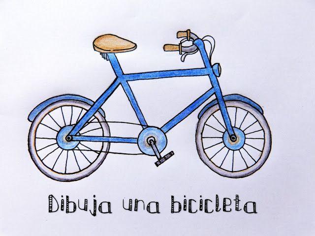 Nica Bernita #Manualidades : CÓMO #DIBUJAR UNA #BICICLETA  ¿EN QUÉ SE DIFERENCIAN #CÍRCULO Y #CIRCUNFERENCIA?  #Dibujo #fácil para #niños #bici