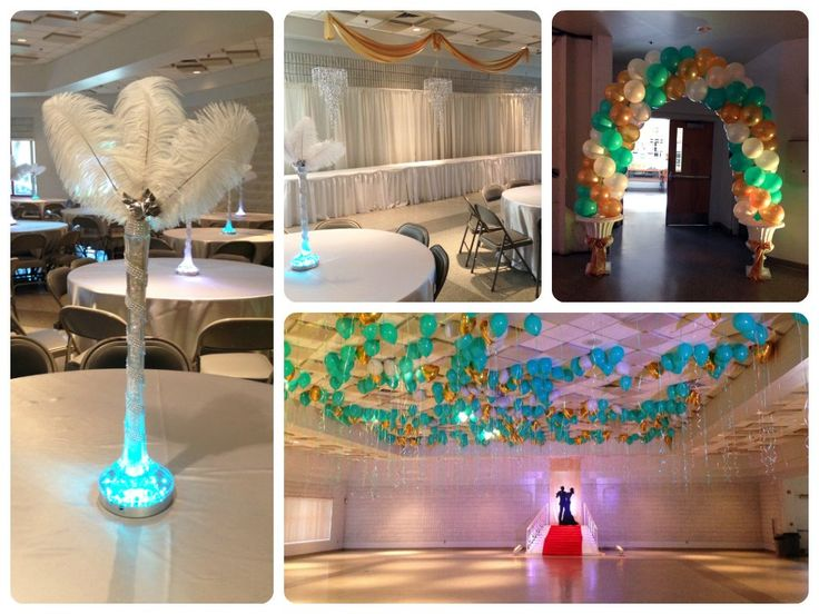 Melbourne, FL Event Decorating Blog   Gatsby Prom Decor For Bayside High