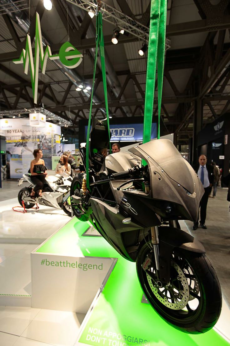 """the first-ever electrically-powered bike from Italy"""