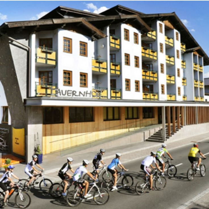 Great sporthotel in Austria! In this superb bike hotel Tauernhof you have a gym, spa and a wassstraat to the bikes used to clean.